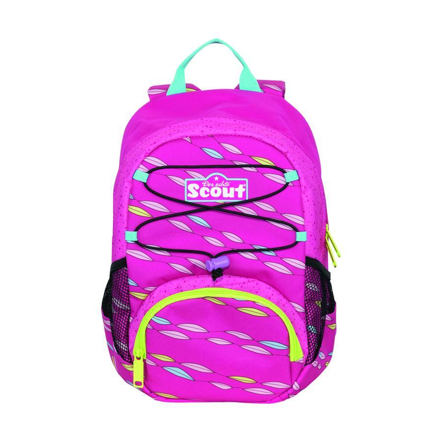 Scout-rygsæk VI - lyserød sommerfugl