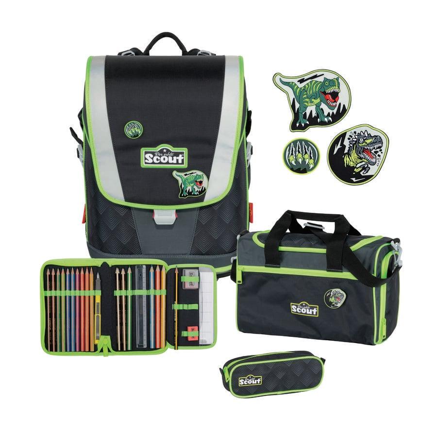 Scout Ultra set 4 st. - Svart Dino