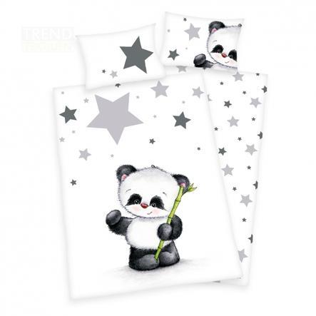 HERDING Biancheria da letto piccolo panda 100 x 135 cm
