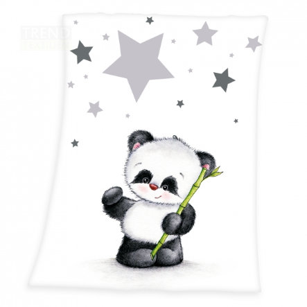 HERDING Microfiber Deken Kleine Panda