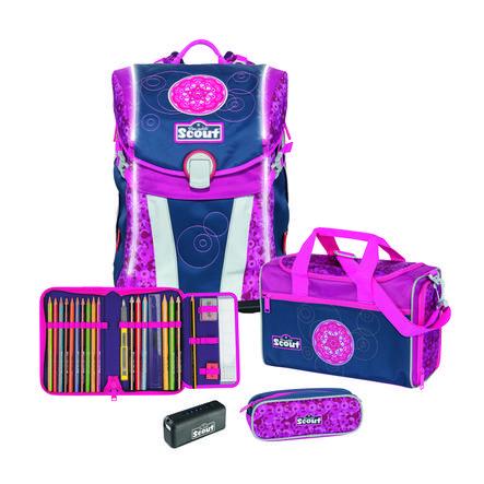 Scout Sunny-Set 4-stykke - Safety Light Pink Mandala