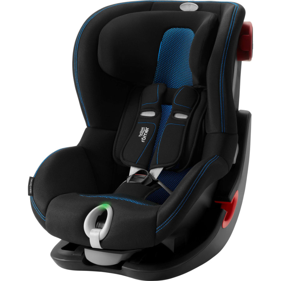 Britax Römer Kindersitz King II LS Black Series Cool Flow - Blue