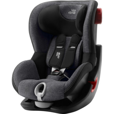 Britax Römer Kindersitz King II Black Series Graphite Marble
