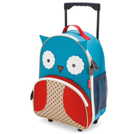 SKIP HOP Zoo Luggage Owl - Resetrolley för barn