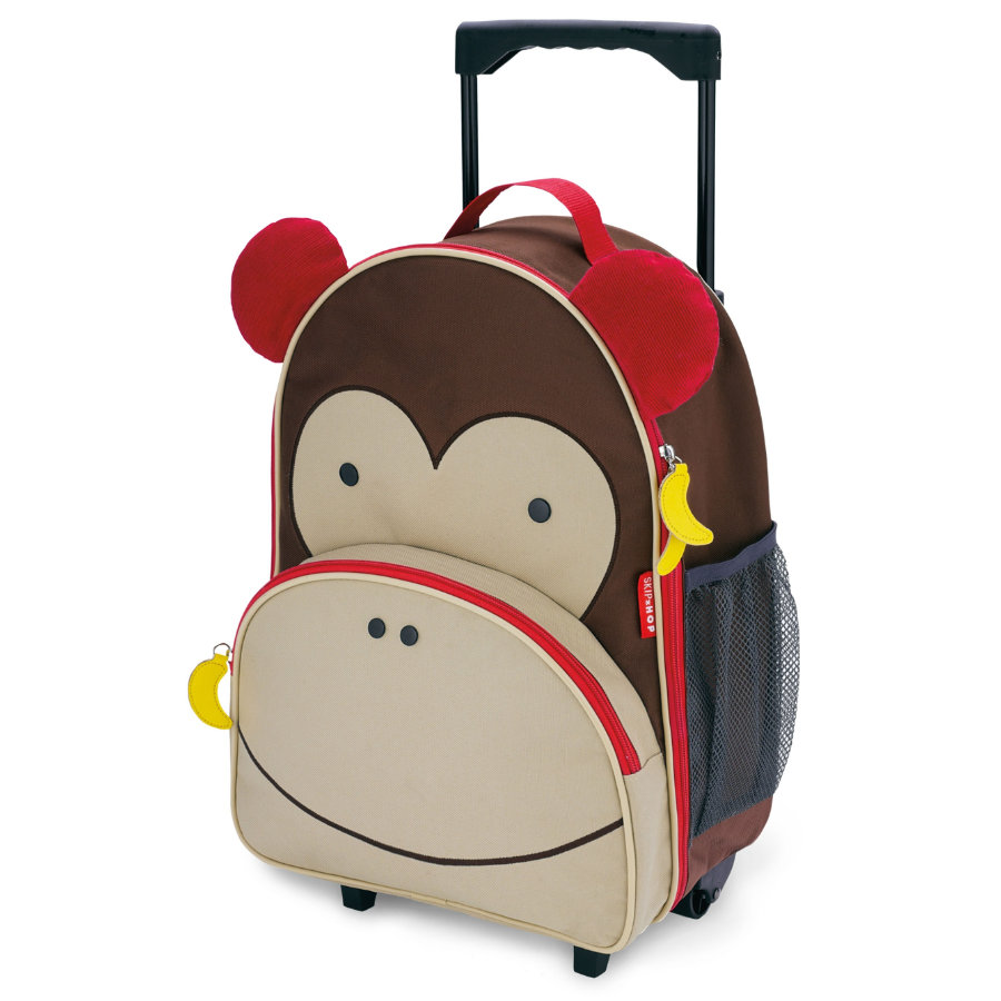 SKIP HOP ZOO Trolley per bambini, Scimmietta Marshall