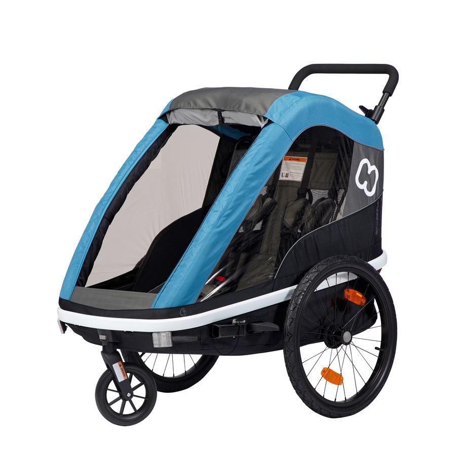 hamax Dětský vozík Avenida Petrolejově modrý