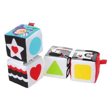 Fisher-Price® Baby s zachte omkeerbare blokjes