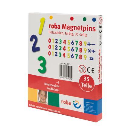 Roba Houten Magnetische Letters 35-delig