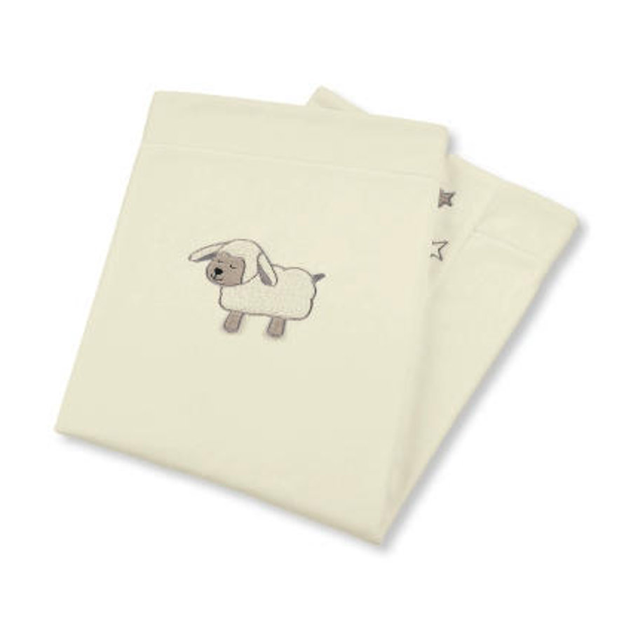 Sterntaler Couverture bébé Stanley mouton 100x75 cm