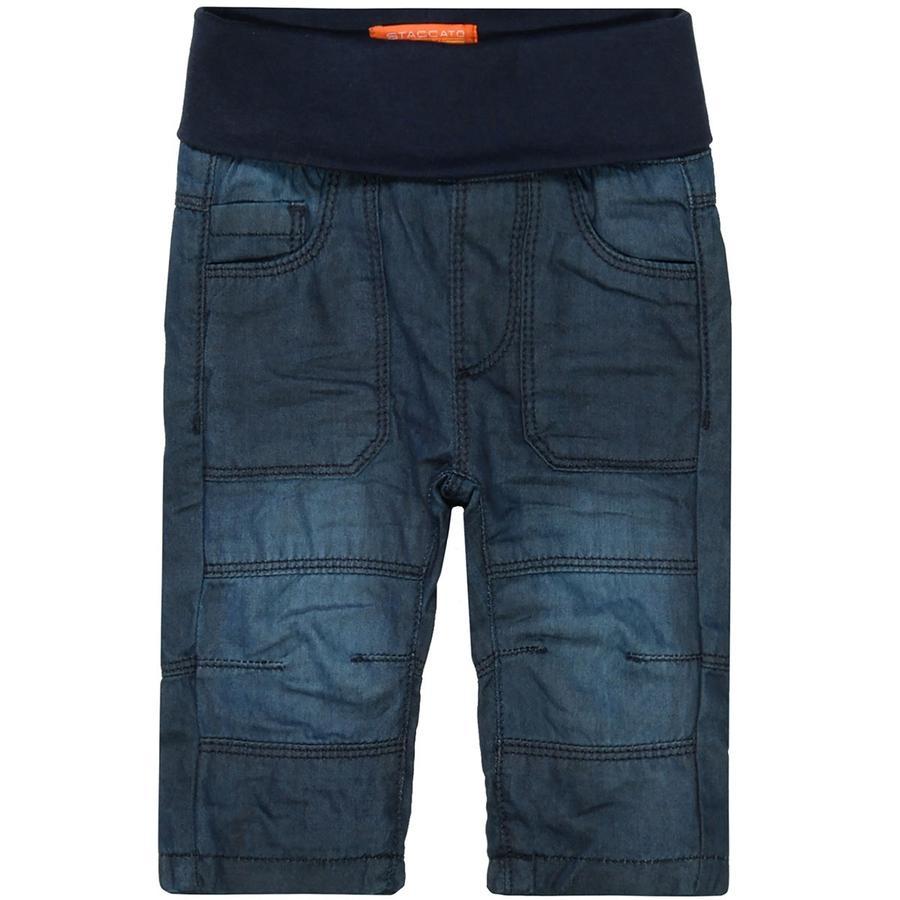 STACCATO  Jongens thermische jeans blauw denim