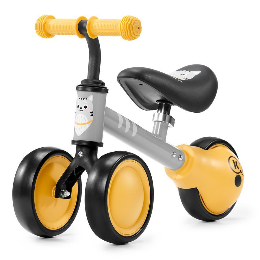 Kinderkraft - Mini bici senza pedali Cutie, giallo