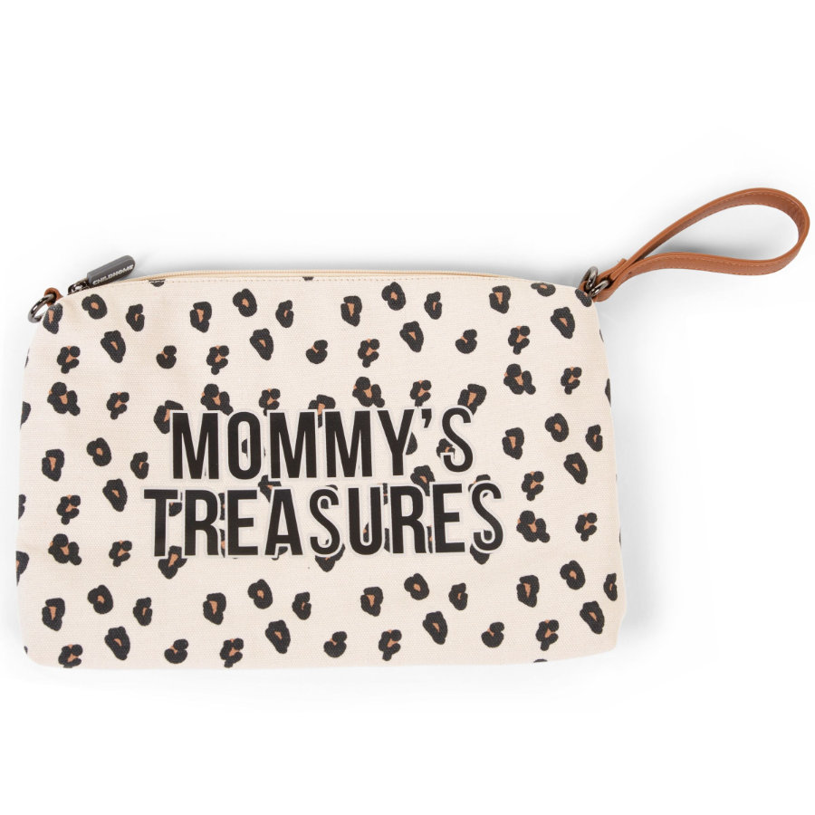CHILDHOME Mommy Clutch Leopard