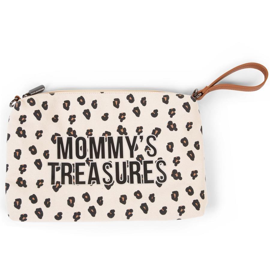 CHILDHOME Pochette à langer Mommy Clutch léopard