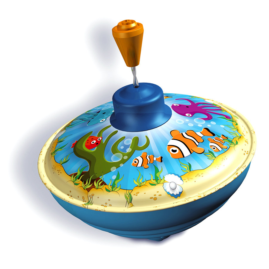 BOLZ Brzęczący bączek Zwierzęta morskie 13 cm