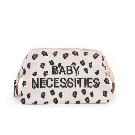 CHILDHOME Baby Necessities Kulturbeutel Leopard