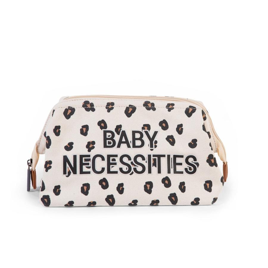 CHILDHOME Trousse de toilette enfant Baby Necessities léopard