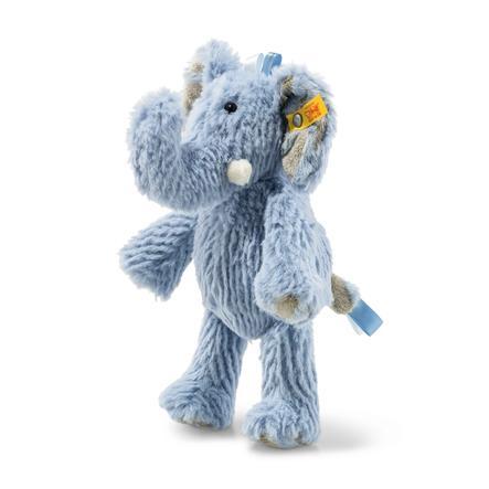 Steiff  Boucles d'oreilles en peluche Friend Elefant 20cm, bleu