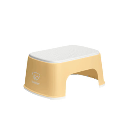 BABYBJÖRN Kroková stolička světle žlutá