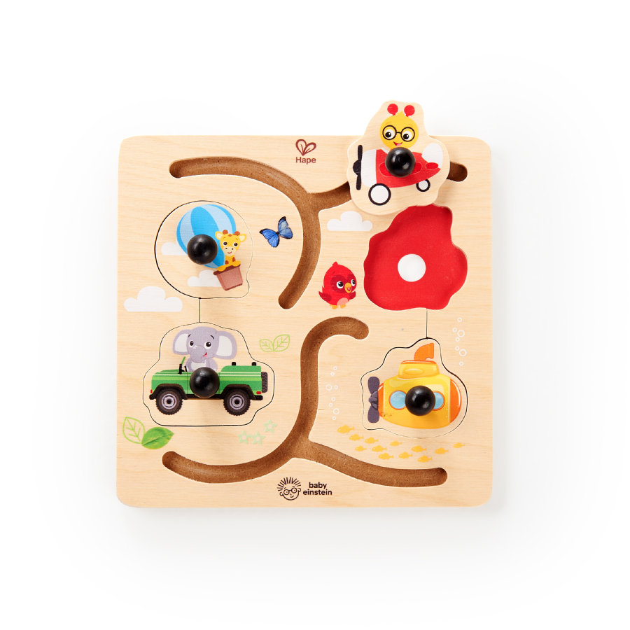 Baby Einstein by Hape Puzzle d'aventure bois E11870
