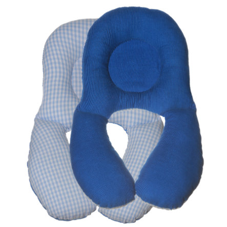 BabyDorm ® Cuscino per il collo NeckyDorm Benny blu