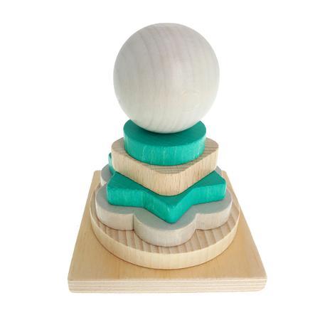 HESS Stapeltoren, natuurlijk Turquoise