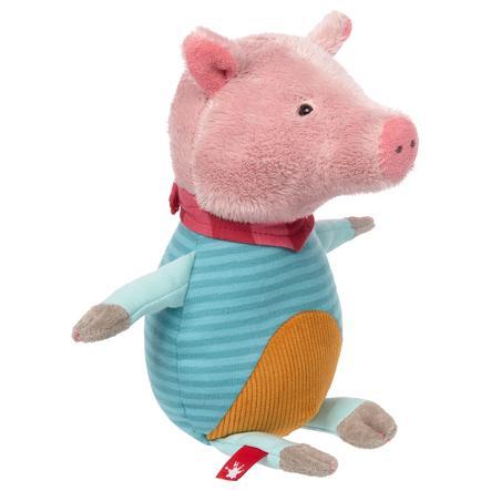 sigikid® Peluche cochon Patchwork Sweety