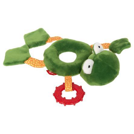 sigikid® Hochet peluche grenouille, anneaux