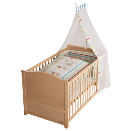 ROBA Combi Cot Lukas Butterfly Complete Bed Set