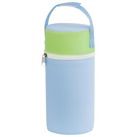 Rotho Babydesign Warmhaltebox für Weithals Flaschen babybleu/lindgrün