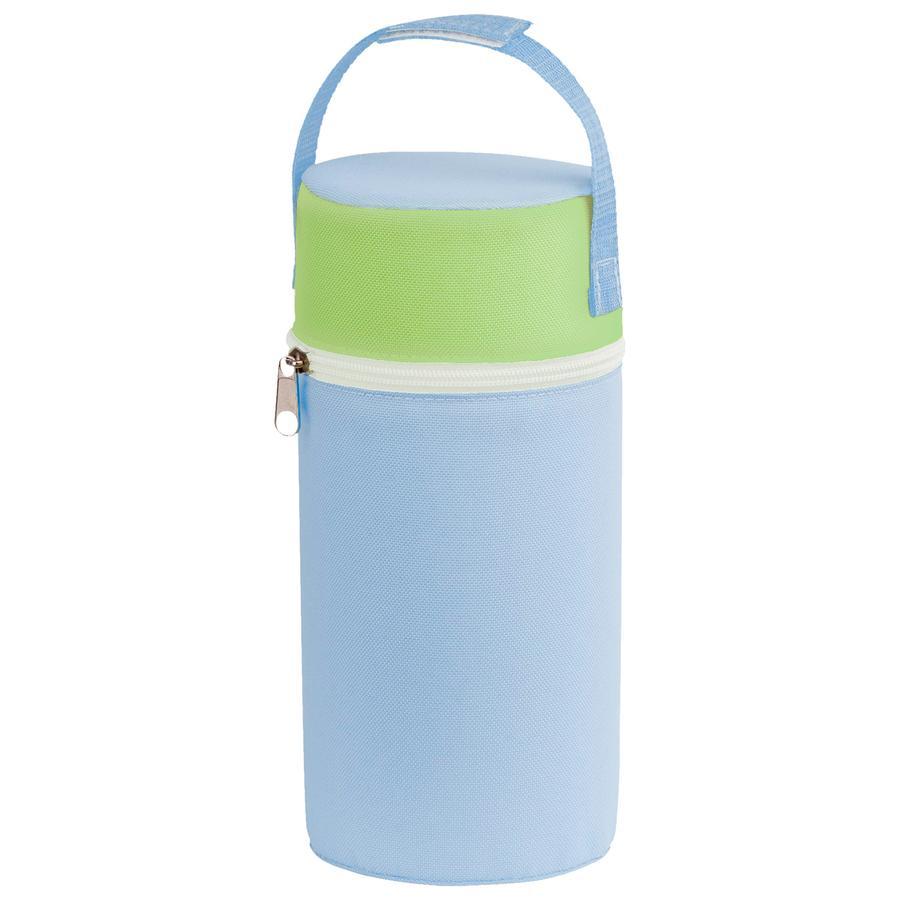 ROTHO Värmeväska för flaskor med bred hals - blå/grön