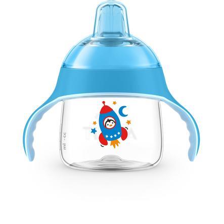 Philips Avent Tasse enfant bec SCF746/02 fusée 200 ml bleu 6 m+