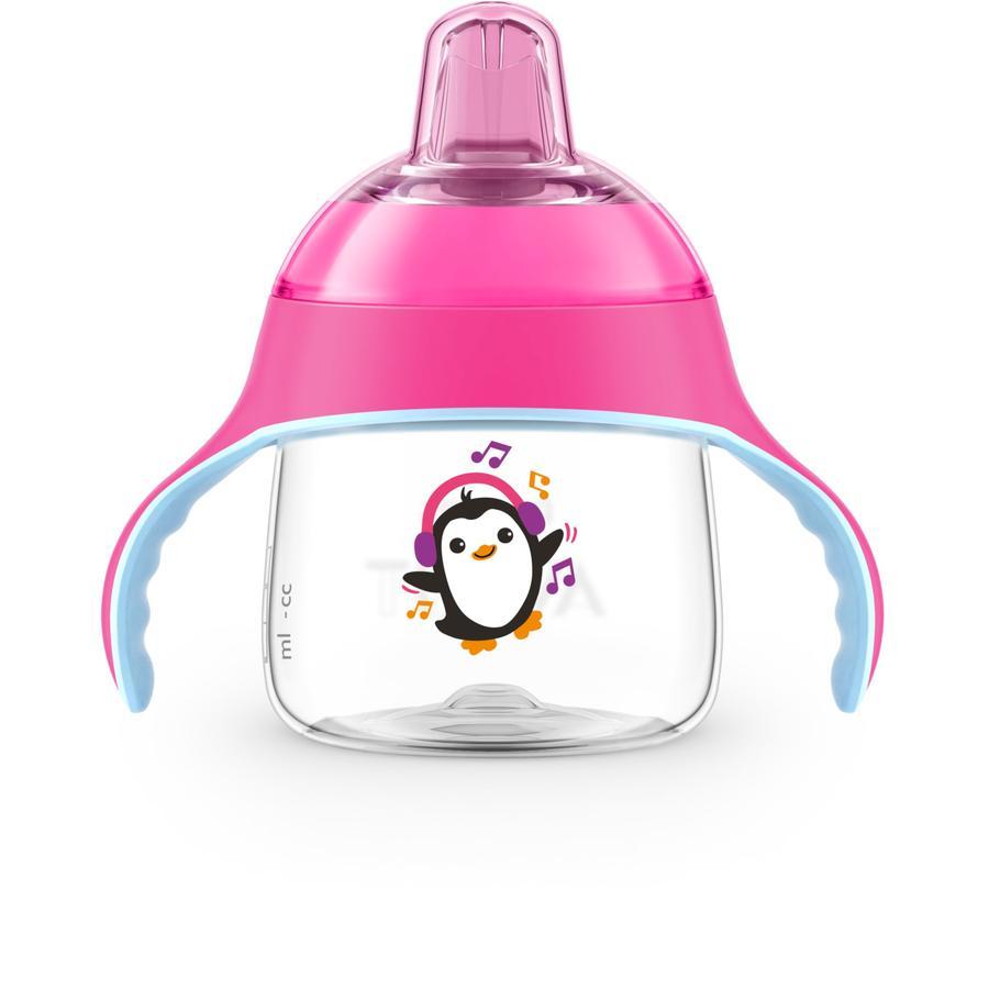 Philips Avent näbbkopp SCF746 / 03 Penguin 200 ml rosa från 6: e månaden