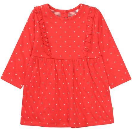 STACCATO girls kjole b høyre rødmønstret