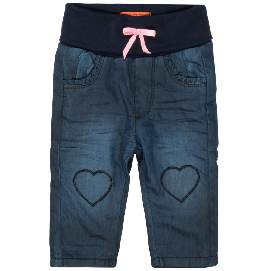 STACCATO  Girls Dżinsy Thermo granatowy denim