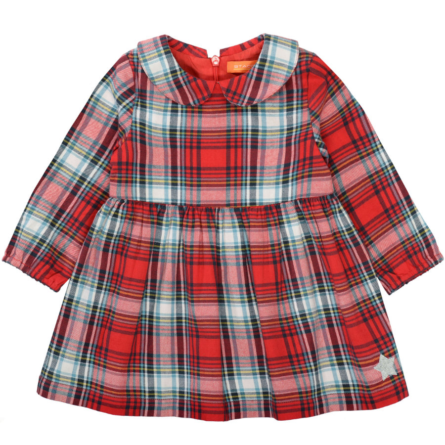 STACCATO  Girls Vestido b right  cheque rojo