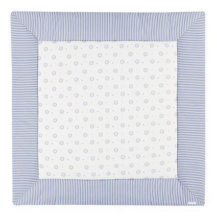 bellybutton by Alvi® Krabbeldecke 120 x 120 cm, Classic Line Löwe blau