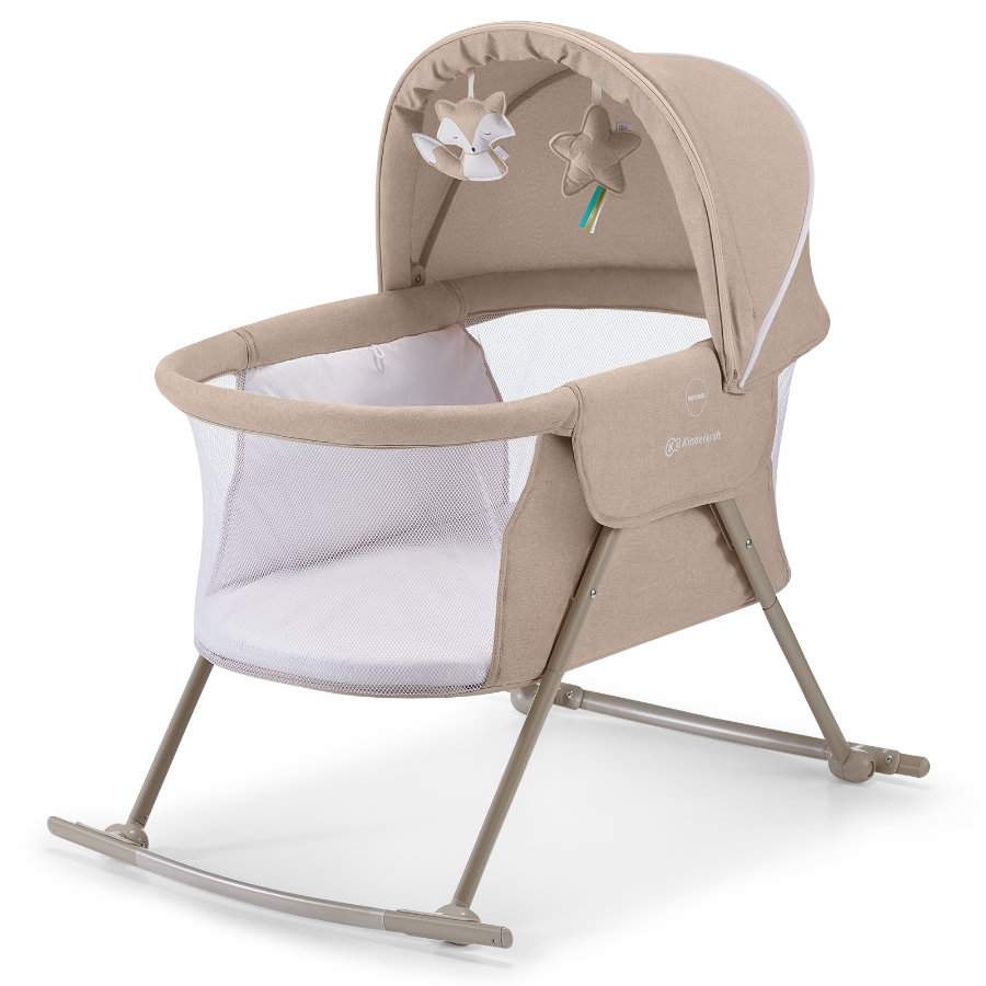 Kinderkraft sänky ja sitteri 3 in 1 Lovi Beige