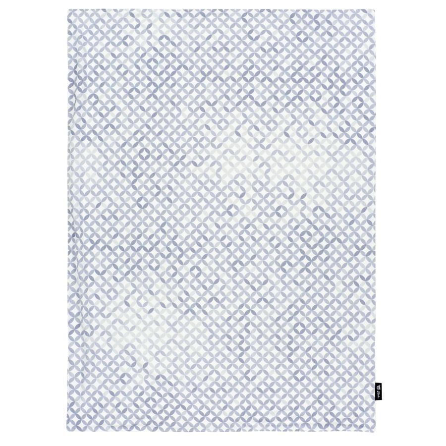 Alvi® Couverture bébé Jersey mosaïque 75x100 cm