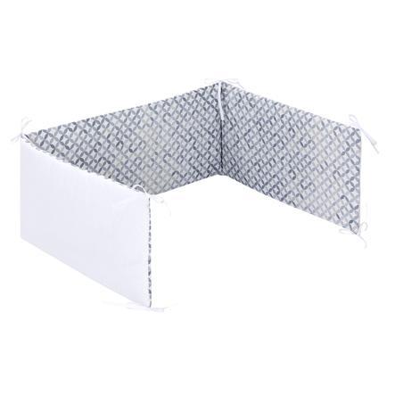 Alvi® Tour de lit enfant standard mosaïque 180 cm