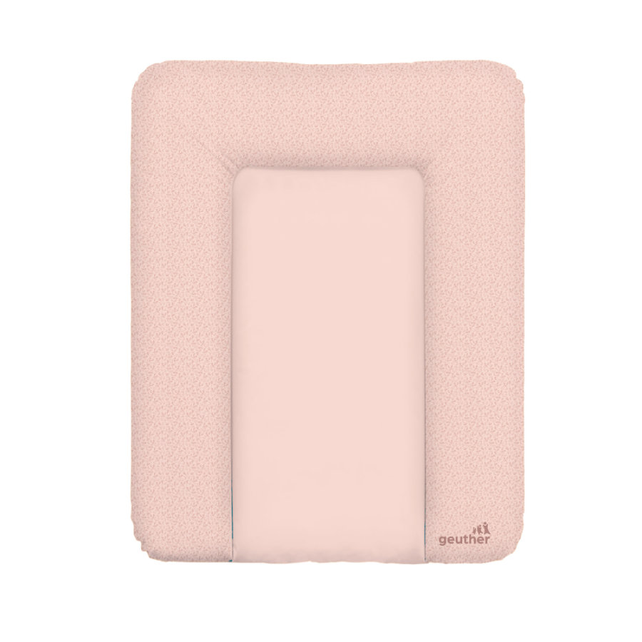 geuther Matelas à langer Lilly Entertwined pink 52x72 cm
