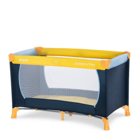HAUCK Campingbed Dream`n Play 11 yellow/blue/navy