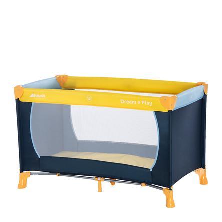 hauck Lit parapluie Dream'n Play 11, jaune/bleu/bleu marine