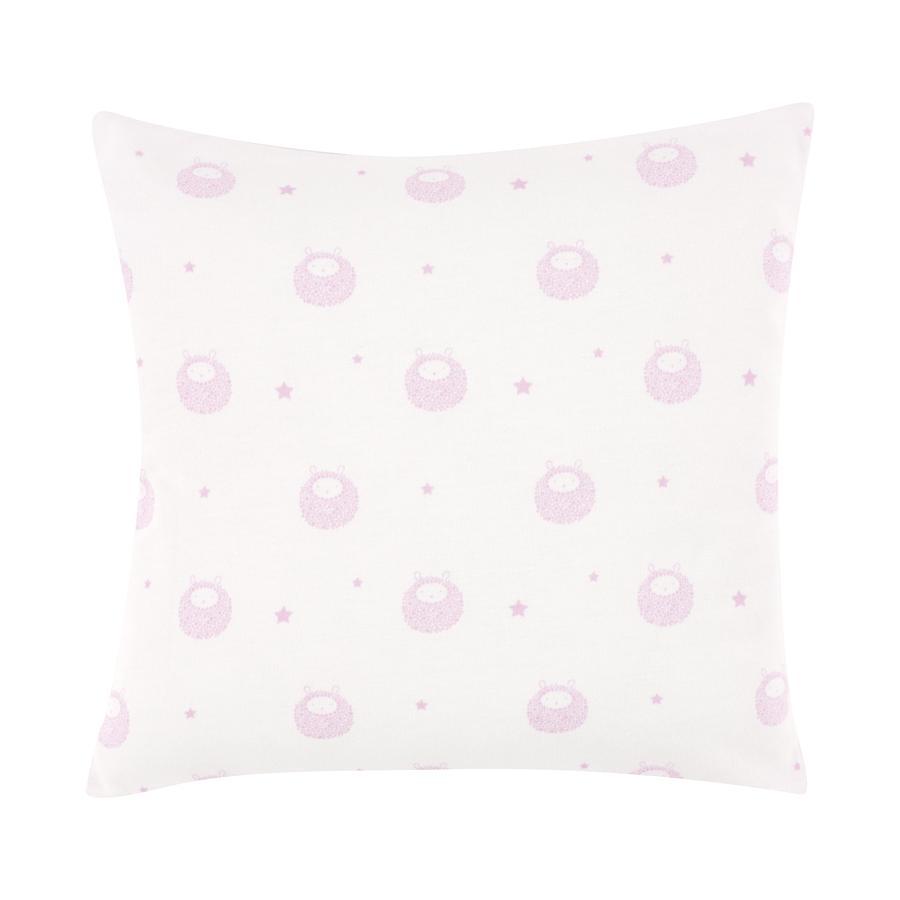 bellybutton de Alvi Cojín decorativo 30 x 30 cm, Classic Line Ovejita, rosa