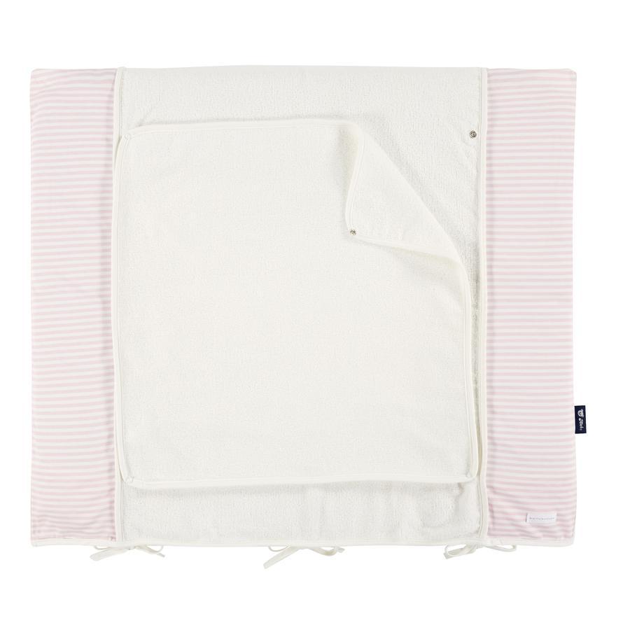 Bellybutton by Alvi skötbäddsöverdrag, 85 x 70 cm, får rosa