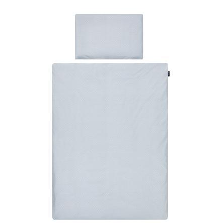 Alvi ® biancheria da letto 100 x 135 cm, blu conchiglia