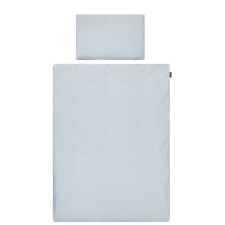 Alvi® Parure de lit enfant Shell blue, 100x135 cm