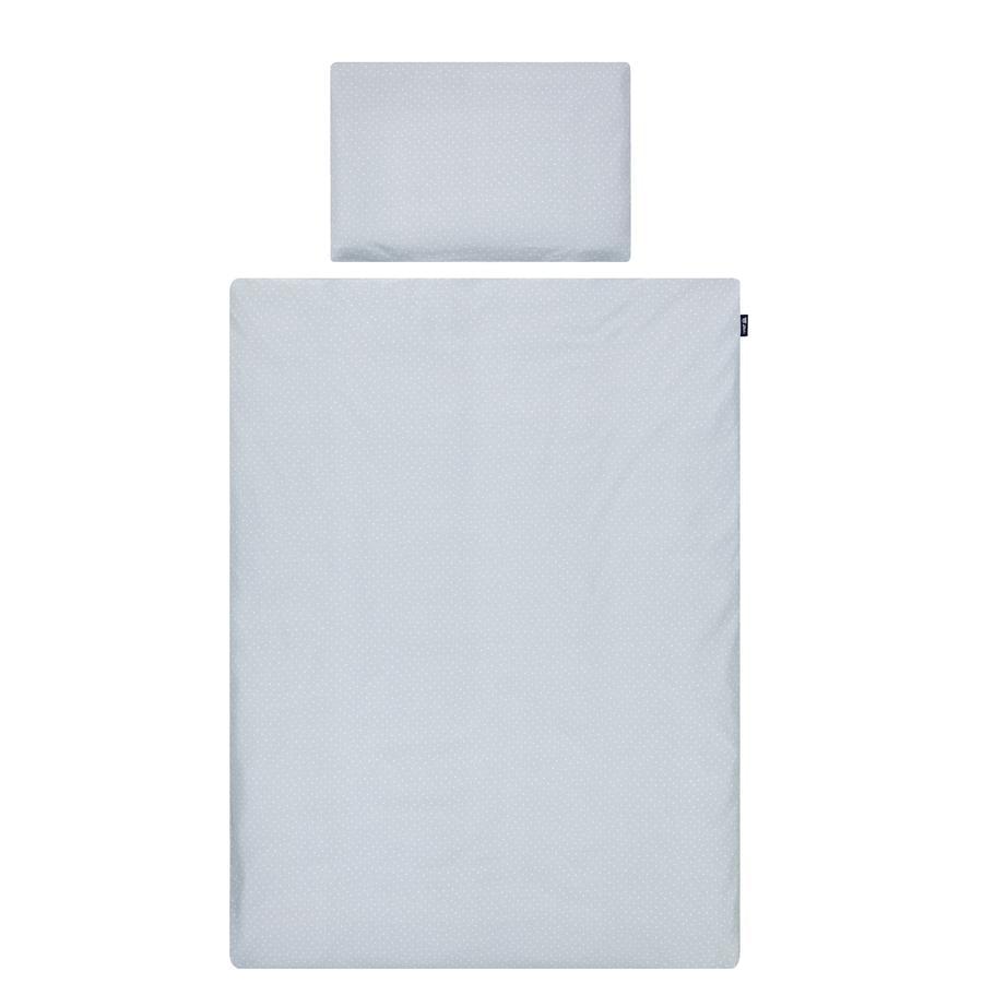 Alvi® Bettwäsche 100 x 135 cm, Shell blau