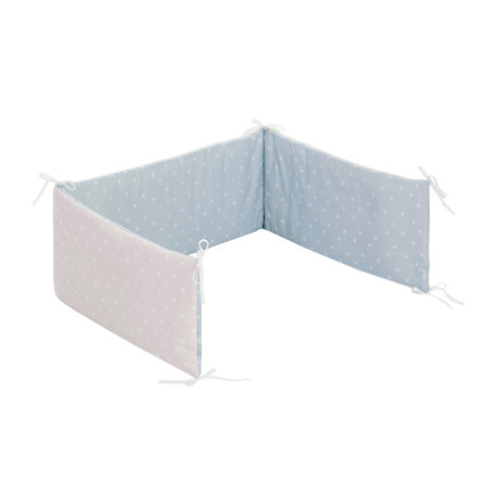 Alvi® Tour de lit enfant standard Shell blue 180 cm