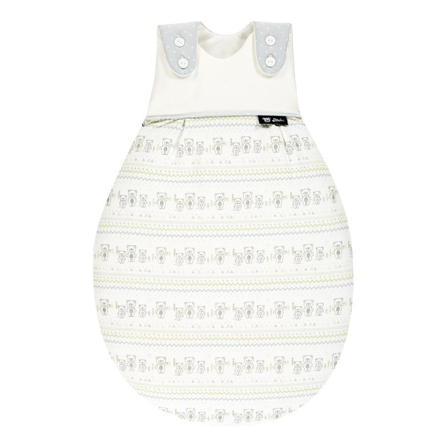 Alvi® Baby Mäxchen® - das Original Außensack, Tipi Bear