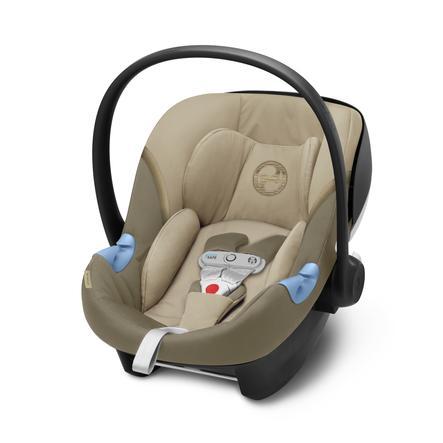 cybex GOLD Babybilstol Aton M i-Size inkludert Sensor Safe Class ic Beige